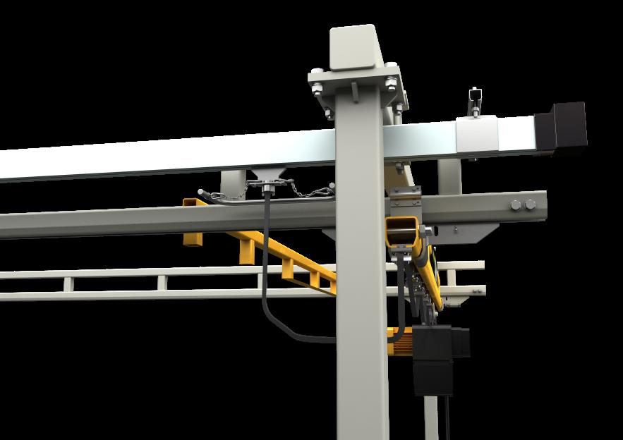 Workstation Crane Systems : Workstation cranes jdn monocrane